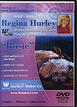 ROSIE - Painting a Dog In Oils by Regina Hurley
